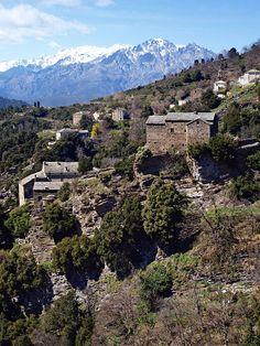 Région de Ponte-Leccia - Morosaglia-Terchini - Maison de l'Alpa au hameau de Terchini
