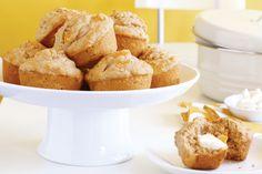 Peach Buttermilk Muffins Recipe - Taste.com.au