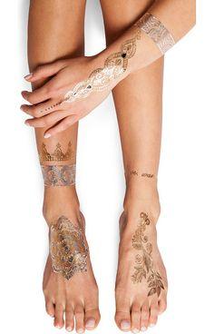 FLASH TATTOOS Sheebani tattoo found on Nudevotion