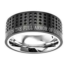 I think my son would love this armor of God ring, he is struggling right now, and this would be a good reminder. He has been praying a lot, and reading the bible every night. He doesn't want to tell me what he's struggling with, but I want to get him something to help him out.