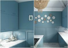 #kohler #benjaminmoore Color Collab, this is Province Blue