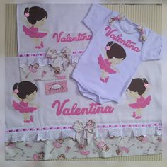 Kit Bebe, Baby Kit, Onesies, Clothes, Embroidered Towels, Handmade Flowers, Panda Themed Party, Dressmaking, Theme Parties