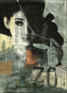 mixed media collage Susan MacGregor