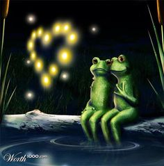 "THE ""LOVE"" OF FROGS"