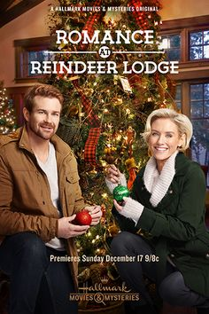 Romance at Reindeer Lodge - a Hallmark Movies & Mysteries Original Christmas Movie starring Nicky Whelan & Josh Kelly!