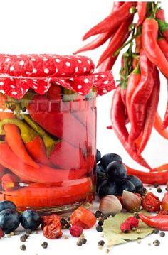 Beraní rohy Preserves, Pickles, Watermelon, Fruit, Cooking, Food, Baking Center, Kochen, Hoods