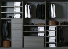 Porro Closet System Piero Lissoni