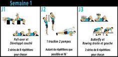 3 Mois pour prendre du volume musculaire sur le haut du corps grâce à ce programme de crossfit à suivre chez vous avec haltères et barre de traction