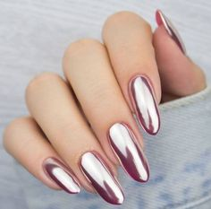 Want some ideas for wedding nail polish designs? This article is a collection of our favorite nail polish designs for your special day. Read for inspiration Easter Nail Designs, Easter Nail Art, Nail Polish Designs, Nail Art Designs, Nails Design, Red Nails, Glitter Nails, Burgundy Nails, Wedding Nail Polish