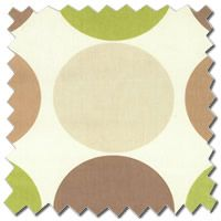 Spot on Pistachio Green Curtains