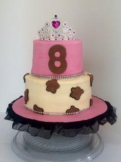 Leopard print Princess Cake