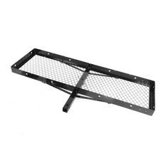 Rugged Ridge Hitch Receiver Rack, 20 Inches x 60 Inches, 2 Inch Receiver Hitch (7700)