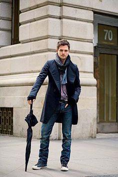 Men Trendy Fashion Rainy Season