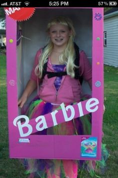 coolest homemade barbie and ken halloween couple costume halloween couples barbie and costumes - Halloween Costume Barbie