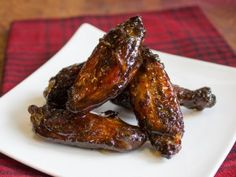 Sweet and smoky chicken wings