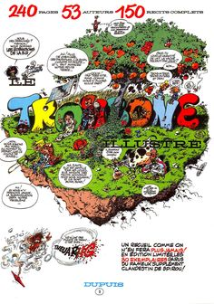 Franquin - Idees Noires - 009.jpg (1200×1711) This original sold in 2012 for 150'000 Euros. Staggering!