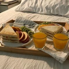 Nothing better than breakfast in bed. #breakfast #mornings #lifestyleinspo Think Food, I Love Food, Good Food, Yummy Food, Food Goals, Cafe Food, Aesthetic Food, Aesthetic Coffee, Food Cravings