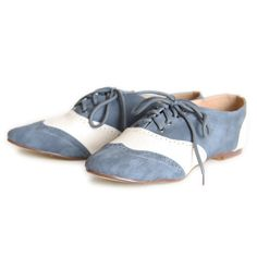 blue poodle oxfords from ruche