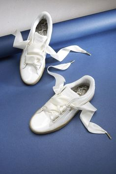 Puma have done it again: this time with a killer footwear combination. Ballet pump, meet trainer. #weddingshoes
