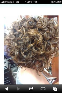 Love the way the curls fall