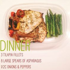 Tilapia + asparagus + onions and peppers ~ adult lunch #worklunch