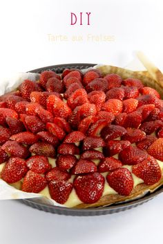 recette tarte au fraise 5 Raspberry, Strawberry, Deli, Desserts, Cheesecake, Recipes, Cooking Food, Sweet Recipes, Food Porn