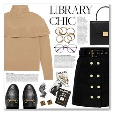 """Work Hard, Play Hard: Finals Season"" by myduza-and-koteczka ❤ liked on Polyvore featuring Victoria Beckham, Chloé, Gucci, Anja, Assouline Publishing and Illamasqua"