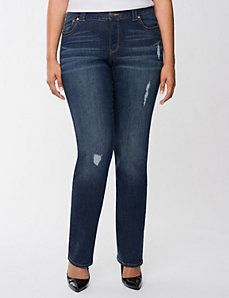 d92e4f9cdcf Women s Plus Size Straight Leg Jeans
