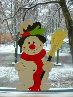 Rita - Welcome Xmas Crafts, Fall Crafts, Diy And Crafts, Paper Crafts, Christmas Door, Christmas Ornaments, Christmas Yard Decorations, Winter Crafts For Kids, Creations
