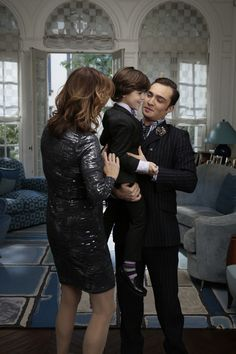 Little Henry Bass. What a cute family they are and Chuck just makes such a good Dad!!!