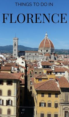 Things to do in Florence, best attractions and information about visiting Tuscany with kids http://www.wheressharon.com/europe-with-kids/places-to-visit-in-tuscany/