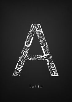 The World Font // Typography Studies by Yusuf Algan, via Behance