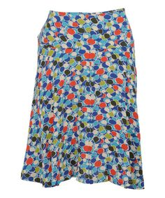 Love this Regatta Punto A-Line Skirt on #zulily! #zulilyfinds