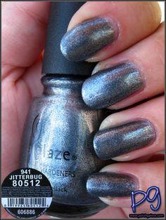 Polish Galore: China Glaze Jitterbug