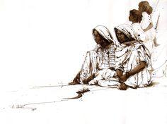 ali abbas art | ALI ABBAS | Art Scene Gallery |