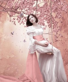 Sakura Spring (photo manipulation)