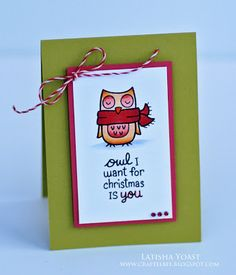 A Busy Little Craftee Bee: Owl I want