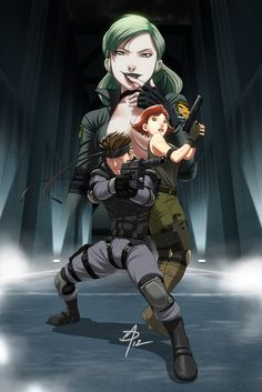 Metal Gear Solid - You're my special prey by polarityplus.deviantart.com