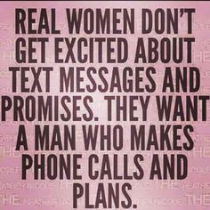 Phone calls and plans