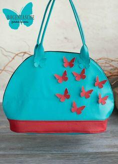 Bogentasche - Taschenspieler 3 CD - Farbenmix.de - Frühstück bei Emma Aqua, Tote Bag, Sewing, Fashion, Coin Purses, Purses, Bags, Sew Simple, Travel Tote