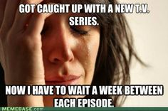 Oh, hate this! Thanks walking dead and American horror story....