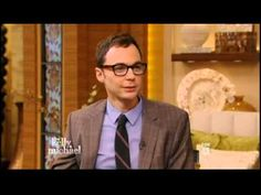 Jim Parsons on Live with Kelly and Michael - 5/1/13 - Full Interview - YouTube