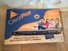 ClearPlay CP-427-USB Filtering DVD Player NIB #ClearPlay #DVDPlayer #DVD #Filtering #Electronics #Entertainment #Family