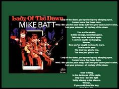 Mike Batt - Lady of the Dawn 1980 HQ + lyrics