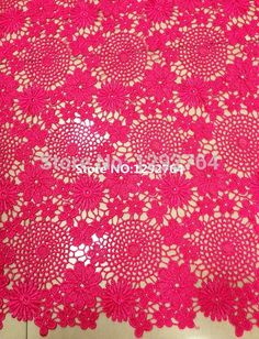 Free shipping! (5yards/lot) TS898 African Cord / Chemical / Cupion Lace  for elegant ladies, new arrival  flower pattern fabric