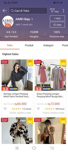Best Online Clothing Stores, Online Shopping Sites, Online Shopping Clothes, Online Shop Baju, Dress Outfits, Womens Fashion, Inspiration, Ideas, Style
