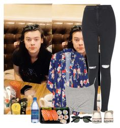 """Lunch with Harry"" by sychie ❤ liked on Polyvore featuring Topshop, Love, Boohoo and Converse"