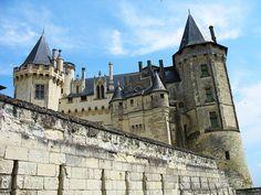 saumur castle, loire valley, france | Carrie McKellar | Flickr