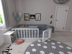 Montessori Bett Efes Montessori - Welcome Baby Bedroom, Baby Boy Rooms, Baby Room Decor, Kids Bedroom, Room Baby, Little Boy Bedroom Ideas, Toddler Boy Room Decor, Kids Rooms, Toddler Floor Bed
