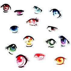 Anime eye drawings - Google Search